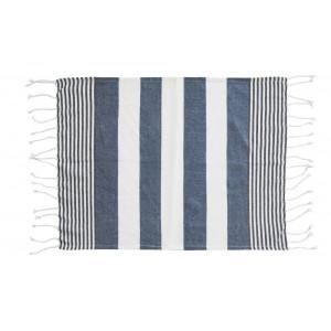 Hamam ECO kocyk/ręcznik, niebieski