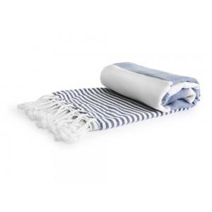 Hammam kocyk/ręcznik, niebieski