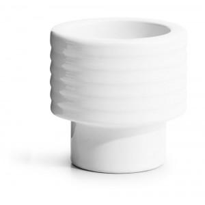 Podstawka/Świecznik, biały