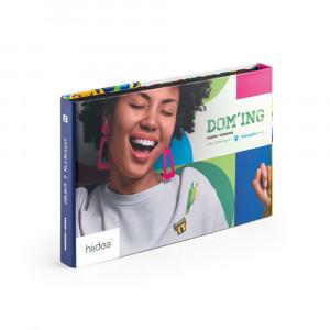 PIN & DOMING SHOWCASE. Wzornik 2 w 1 - usługi Pin & doming