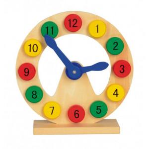 Zegar do zabawy COLOURED TIME