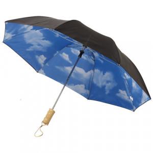 Składany automatyczny parasol Blue-skies o średnicy 21