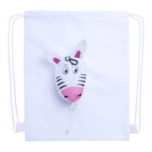 Kissa - worek sznurkowy, zebra
