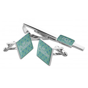 Maestro - zestaw spinek do mankietów i krawata