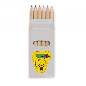 ABIGAIL - 6 kolorowych ołówków