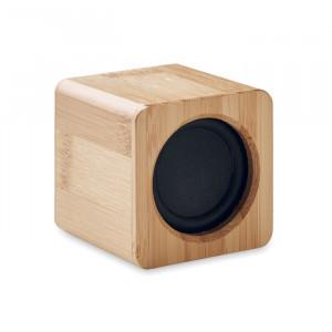 AUDIO - Głośnik bezprzewodowy, bambus