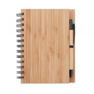 BAMBLOC - Notatnik bambusowy