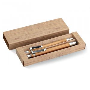 BAMBOOSET - Bambusowy zestaw długopis  i o