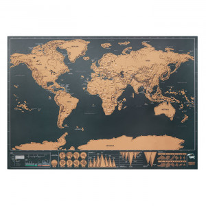 BEEN THERE - Mapa świata - zdrapka
