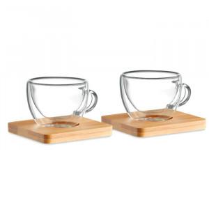 BELIZE - Zestaw 2 szklanek do espresso
