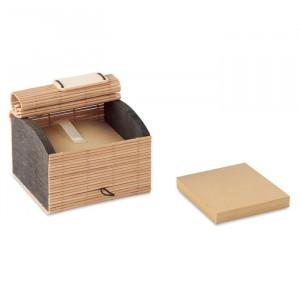 CORTINA BLOCK - Zestaw 500 kartek z bambusa
