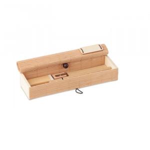 CORTINA ETUI - Bambusowy zestaw piśmienny