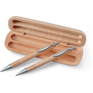 DEMOIN - Długopis i ołówek w pudełku