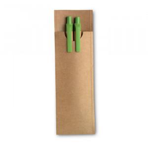 GREENSET - Kpl piśmienny z papieru