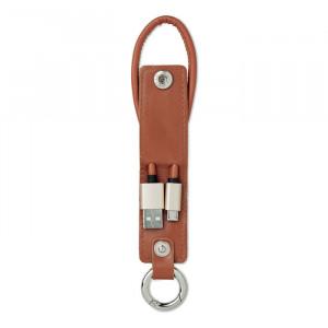 LISO - Brelok z kabelkami ładującymi