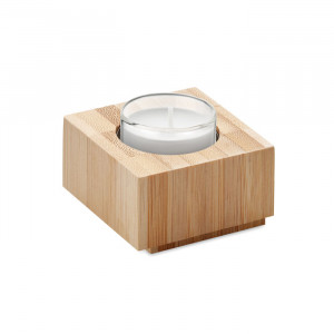 LUXOR - Bambusowy uchwyt na tealight