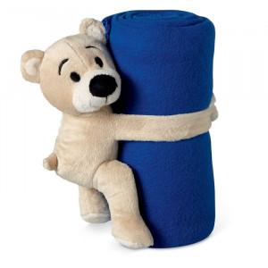 MANTA - Koc polarowy z misiem