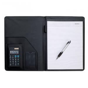 NADIA - Teczka A-4 z kalkulatorem