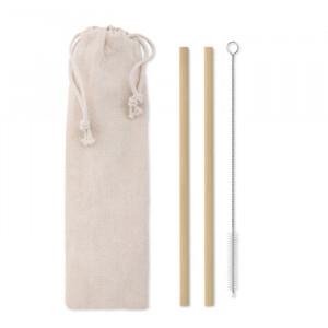 NATURAL STRAW - Słomka bambusowa
