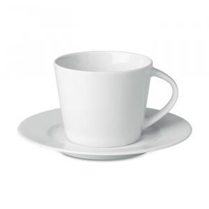 PARIS - Kubek cappuccino i talerzykiem