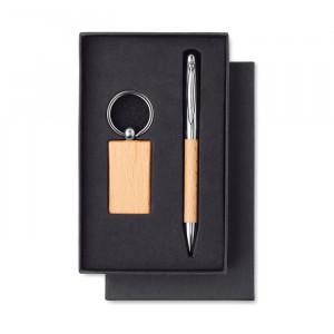 PEN & RING - Zestaw - brelok i długopis