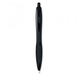 RIOSOFT - Kolorowy długopis z czarnym wy