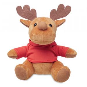 RUDOLPH - Pluszowy renifer w swetrze