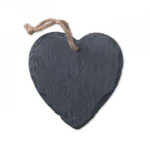 SLATEHEART - Zawieszka świąteczna serce
