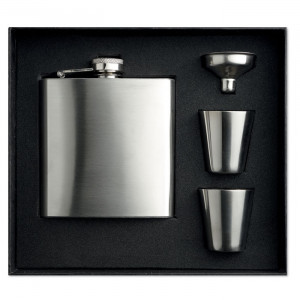 SLIMMY FLASK SET - Piersiówka