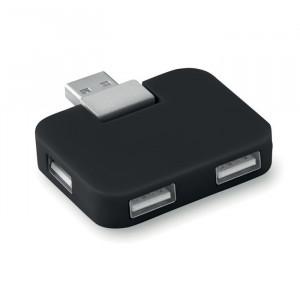 SQUARE - Hub USB 4 porty