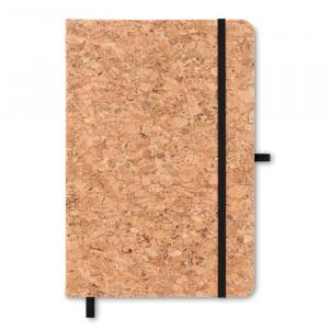 SUBER - Notatnik A5 z  korkową okładką