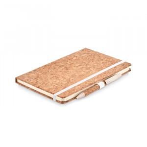 SUBER SET - Notatnik A5, długopis z korka