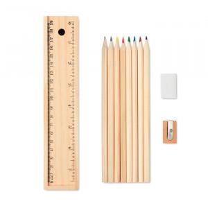 TODO SET - Zestaw kredek i ołówków