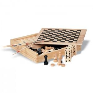 TRIKES - 4 gry w drewnianym op