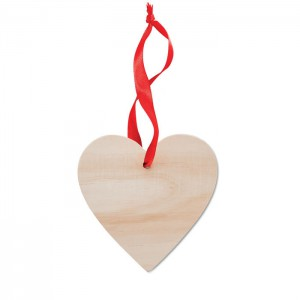 WOOHEART - Zawieszka serce