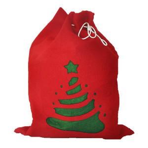 Świąteczny worek na prezenty