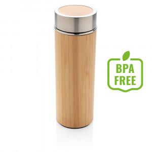 Bambusowa butelka próżniowa 350 ml