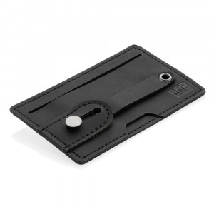 Etui na karty kredytowe 3 w 1, stojak na telefon, uchwyt do telefonu, ochrona RFID