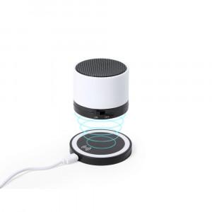 Głośnik bezprzewodowy 3W, ładowarka bezprzewodowa 5W