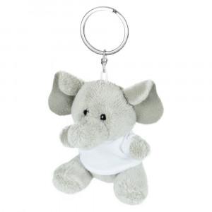 Hugo, pluszowy słoń, brelok