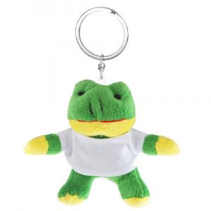 Laila, pluszowa żaba, brelok