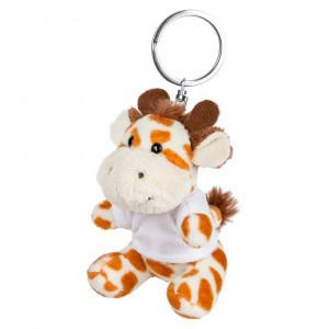 Lizzy, pluszowa żyrafa, brelok