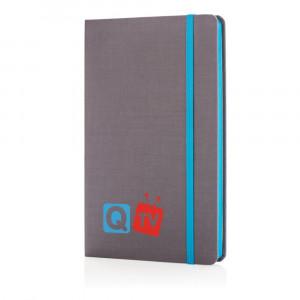 Luksusowy notatnik A5, kolorowe boki