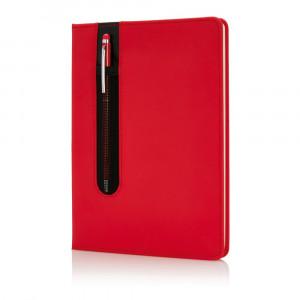 Notatnik A5 Deluxe, touch pen, twarda okładka PU