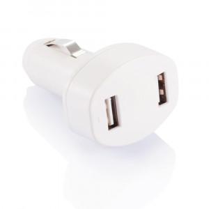 Podwójna ładowarka samochodowa USB