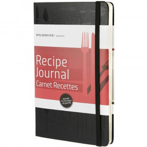 Recipe Journal - specjalny notatnik Moleskine Passion Journal