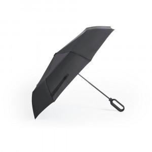 Wiatroodporny parasol manualny, składany