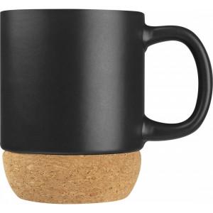Kubek ceramiczny z korkiem
