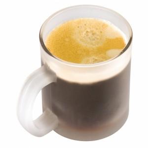 Kubek szklany do kawy GENOVA 300 ml