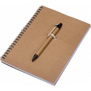 Notatnik A5 z długopisem KENTWOOD